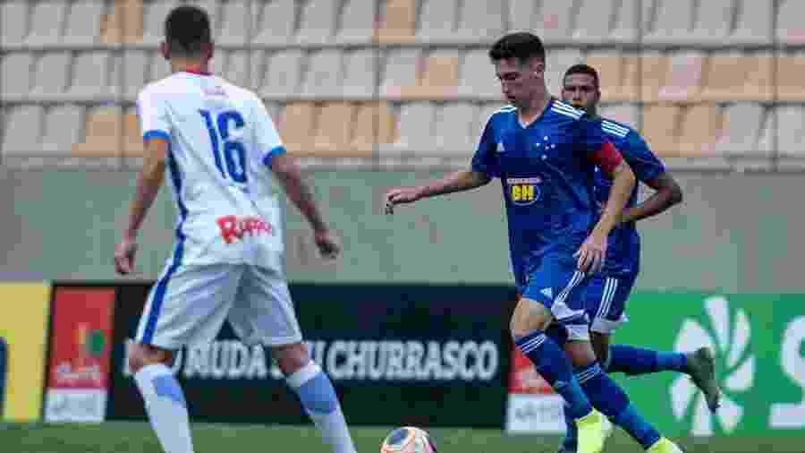 Cruzeiro venceu a terceira na Copinha e se classificou para a segunda fase com 100% de aproveitamento - Cruzeiro/Divulgação