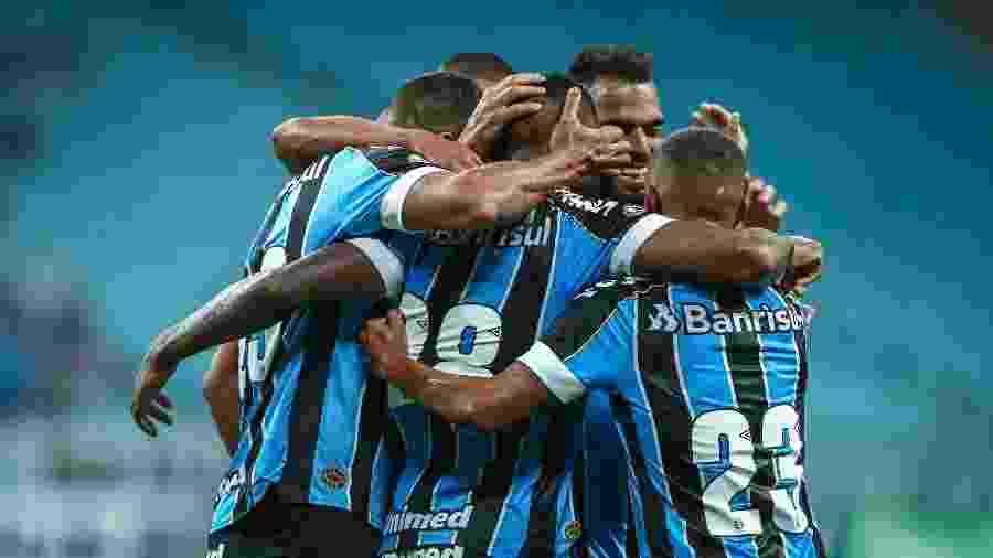 Grêmio teve um início de ano promissor e estava jogando bem, na avaliação de Renato Gaúcho - Lucas Uebel/Grêmio FBPA