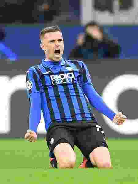 Josip Ilicic faz quatro gols na vitória do Atalanta contra o Valencia - Alberto Lingria/Xinhua