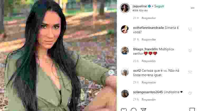 Jaqueline Carvalho é comparada a Simaria - Reprodução/Instagram - Reprodução/Instagram