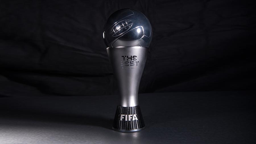 """Troféu do Fifa """"The Best"""" é cobiçado por todos jogadores de futebol - Fifa/Divulgação"""