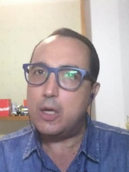Carlos Cereto, comentarista da SporTV - Reprodução/SporTV