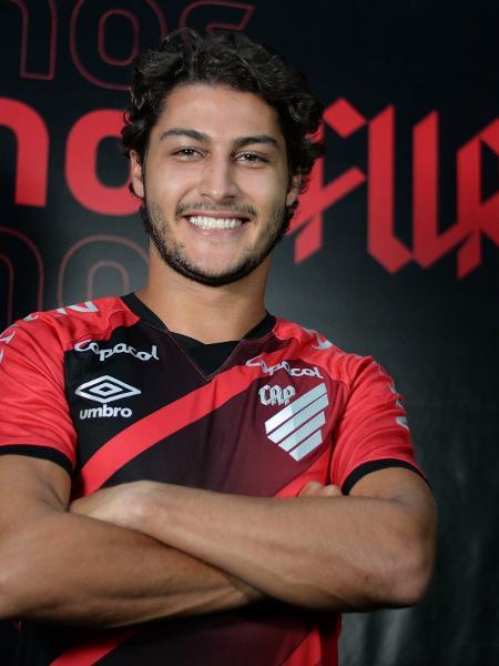 O lateral-direito Marcinho, reforço do Athletico-PR - Fabio Wosniak/Athletico-PR