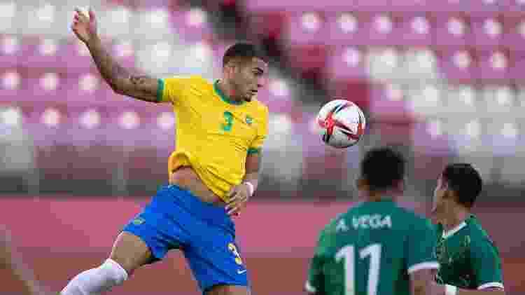 Diego Carlos - Lucas Figueiredo/CBF - Lucas Figueiredo/CBF