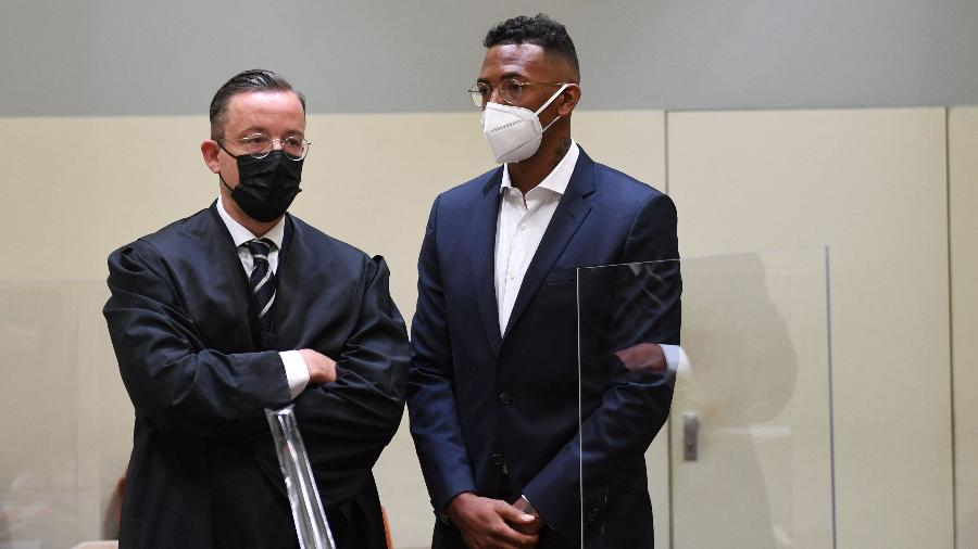 Jerome Boateng vai a julgamento por violência doméstica - Christof STACHE / AFP