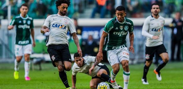 Gabriel Jesus tem se destacado no Palmeiras