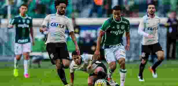 Gabriel Jesus tem se destacado no Palmeiras - Adriano Vizoni/Folhapress