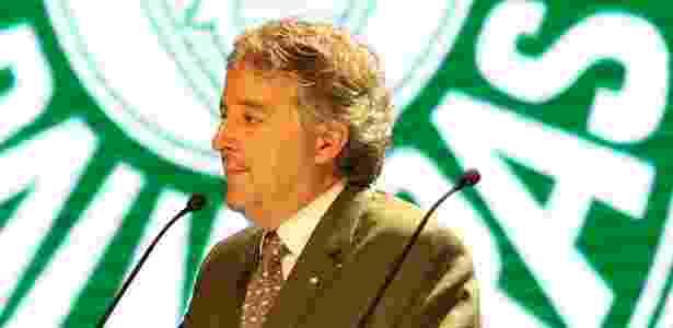 Paulo Nobre presidente Palmeiras - Cesar Greco/Fotoarena - Cesar Greco/Fotoarena