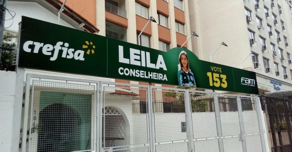Leila Pereira conselheira casa Allianz Parque