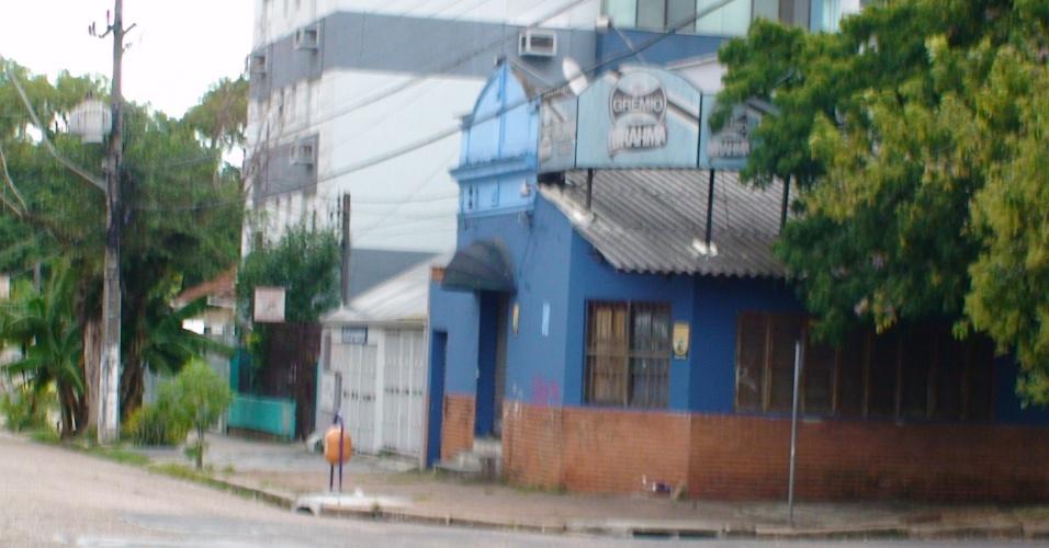 Antigo bar Preliminar, vizinho ao Estádio Olímpico