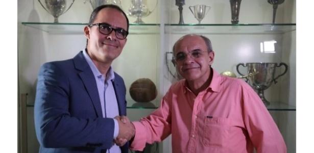 Pedro Abad e Eduardo Bandeira de Mello: lados opostos em relação ao Maracanã