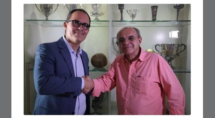 Pedro Abad e Eduardo Bandeira de Mello estão unidos no futebol carioca