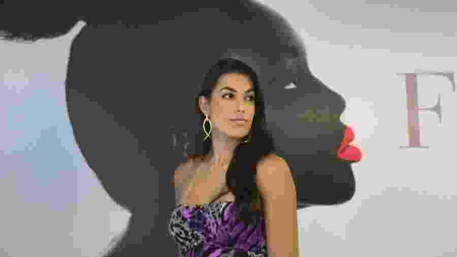 Luciane Escouto foi eleita Miss Mundo Rio Grande do Sul em 2012 e se afastou do vôlei no fim de 2014 - Monalisa Lins/UOL