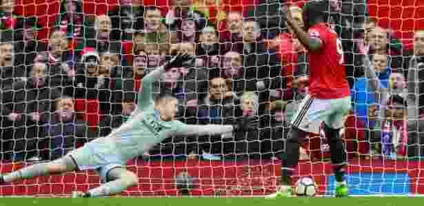 Lukaku marca o quarto gol do United sobre o Crystal Palace - Jason Cairnduff/Reuters - Jason Cairnduff/Reuters