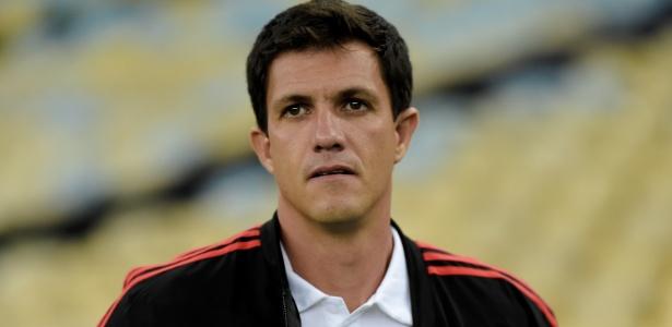 Os resultados de Maurício Barbieri no comando do Flamengo não foram os melhores - Thiago Ribeiro/AGIF