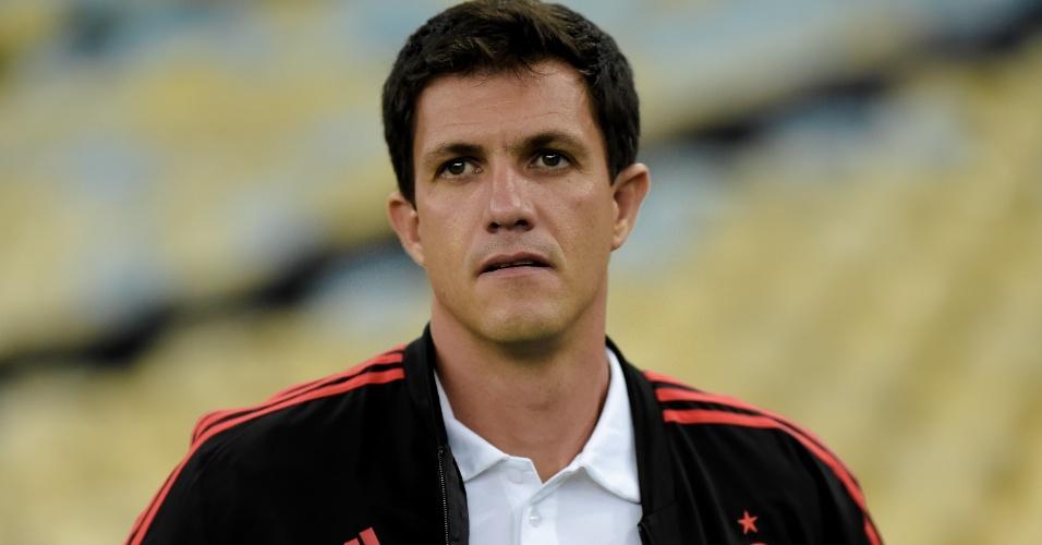 Técnico Mauricio Barbieri comanda o Flamengo contra o Santa Fe pela Libertadores