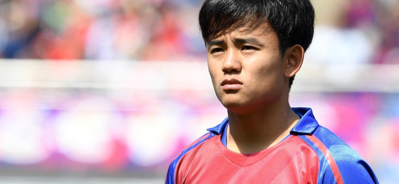 "Takefusa Kubo, o ""Messi japonês"", estará na Copa América - Etsuo Hara/Getty Images"
