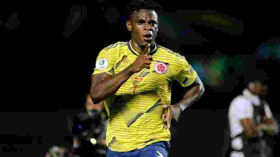 Duván Zapata vem se destacando na seleção colombiana e pode barrar Falcao García na Copa América 2019 - Alan Morici/CA 2019