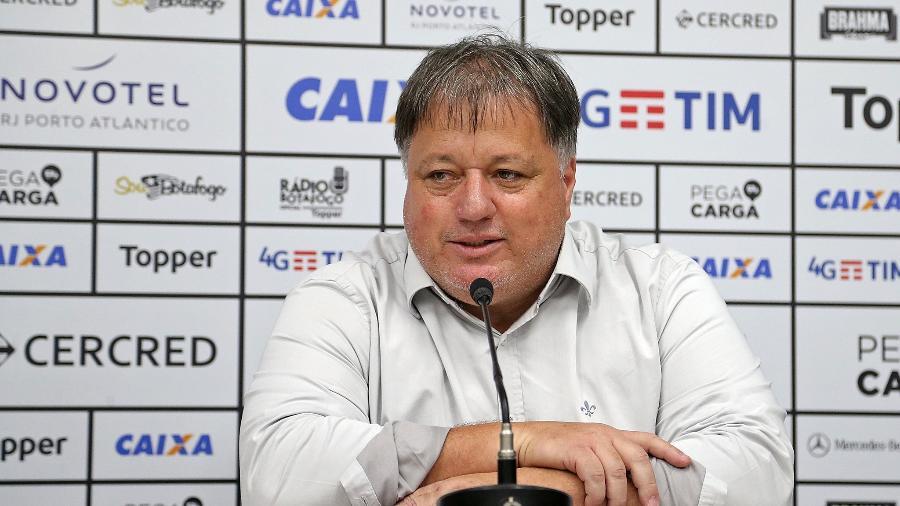 Gerente de futebol do Botafogo, Anderson Barros, cobrou punição para invasores desta quarta - Vitor Silva/SSPress/Botafogo