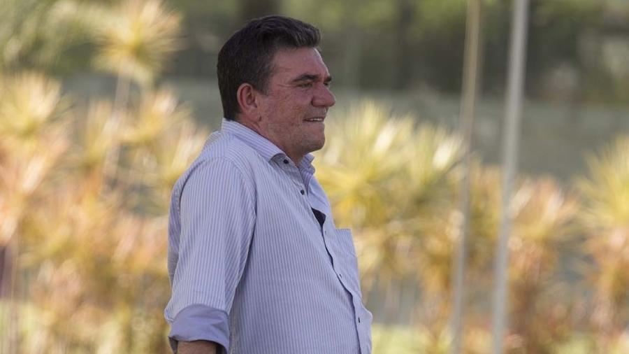 Andrés Sanchez, presidente do Corinthians, negocia a contratação de um treinador para o lugar de Tiago Nunes - Daniel Augusto Jr./Agência Corinthians