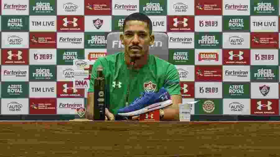 Criticado pela torcida, Gilberto ainda vê espaço para volta por cima no Flu - Lucas Merçon/Fluminense FC
