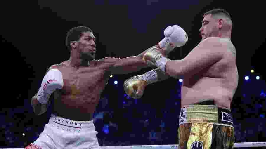 Anthony Joshua enfrentou Andy Ruiz Jr. na Arábia Saudita; luta foi a maior audiência do DAZN - Andrew Couldridge/Reuters