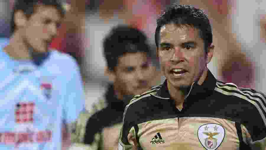 Javier Saviola foi jogador do Benfica, sob o comando de Jorge Jesus, de 2009 a 2012 - Bruno Piers/AFP
