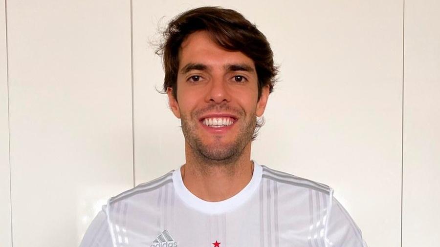 Kaká se animou com acordo entre São Paulo e Orlando City por pendência criada em 2014 - Divulgação