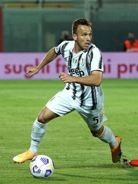 Arthur tem contrato com a Juventus até junho de 2025 - Getty Images