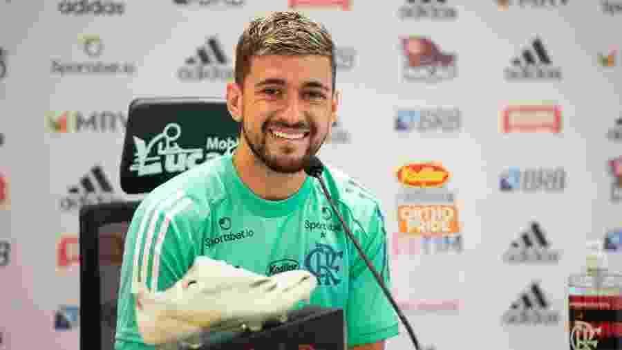 Arrascaeta, meia do Flamengo - Alexandre Vidal / Flamengo