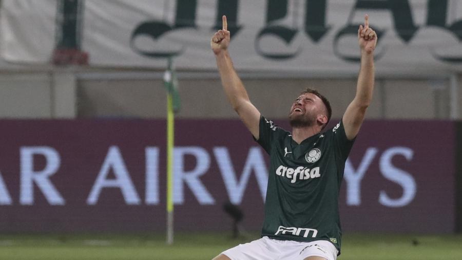 Alan Empereur vai deixar o Palmeiras - AMANDA PEROBELLI / POOL / AFP