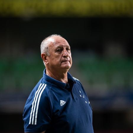O técnico Luiz Felipe Scolari - Bruno Haddad/Cruzeiro