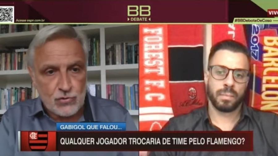 Fábio Sormani diz que erros do Flamengo permitiram bicampeonato do Palmeiras - Reprodução/ESPN