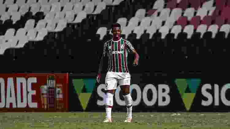 Wellington, volante do Fluminense - Lucas Merçon / Fluminense F.C. - Lucas Merçon / Fluminense F.C.