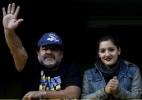 Maradona compara ouro argentino no vôlei à conquista de uma Copa do Mundo - Marcos Brindicci/Reuters