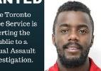 Divulgação/Polícia de Toronto