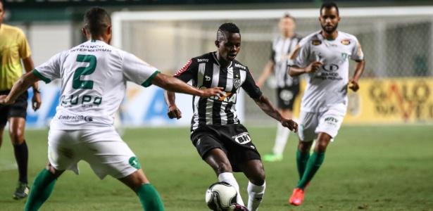 Cazares, do Atlético-MG, deve ter nova chance com Aguirre, na estreia do Brasileirão