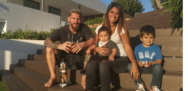 Messi irá se casar com Antonella Roccuzzo nesta semana