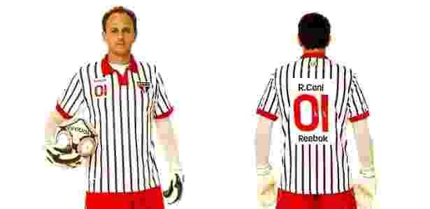Rogério Ceni com camisa alternativa do São Paulo em 2010 - Divulgação - Divulgação
