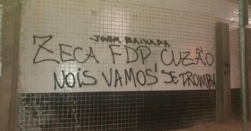 Lateral Zeca recebe críticas de torcedores do Santos