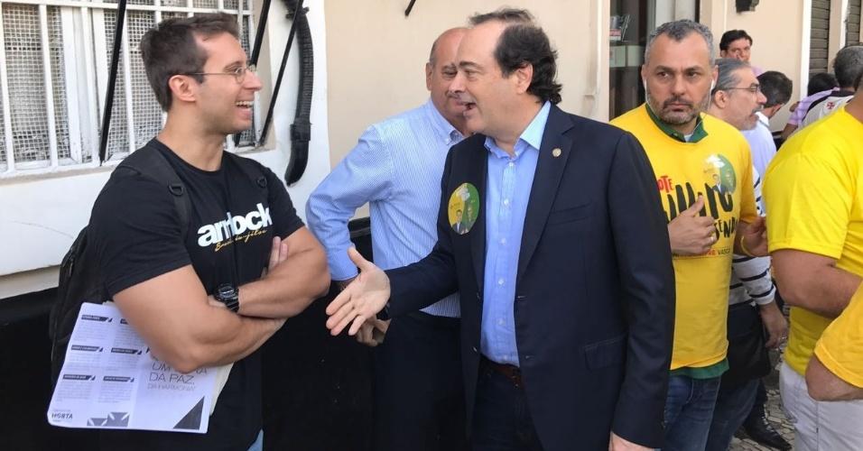 Deputado estadual e ex-candidato à prefeitura do Rio, Carlos Osório apoiará o candidato Julio Brant