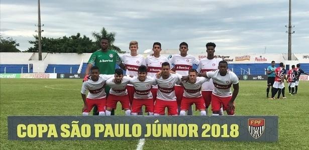 Time do Inter que disputa Copa São Paulo de Futebol Júnior e está classificado