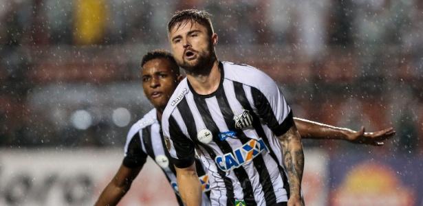 Eduardo Sasha está emprestado ao Santos pelo Internacional até 31 de dezembro
