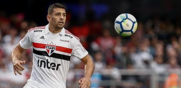 Diego Souza acabou se tornando um homem de referência no São Paulo