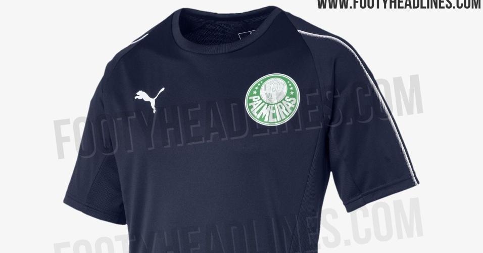 Camisa de treino do Palmeiras
