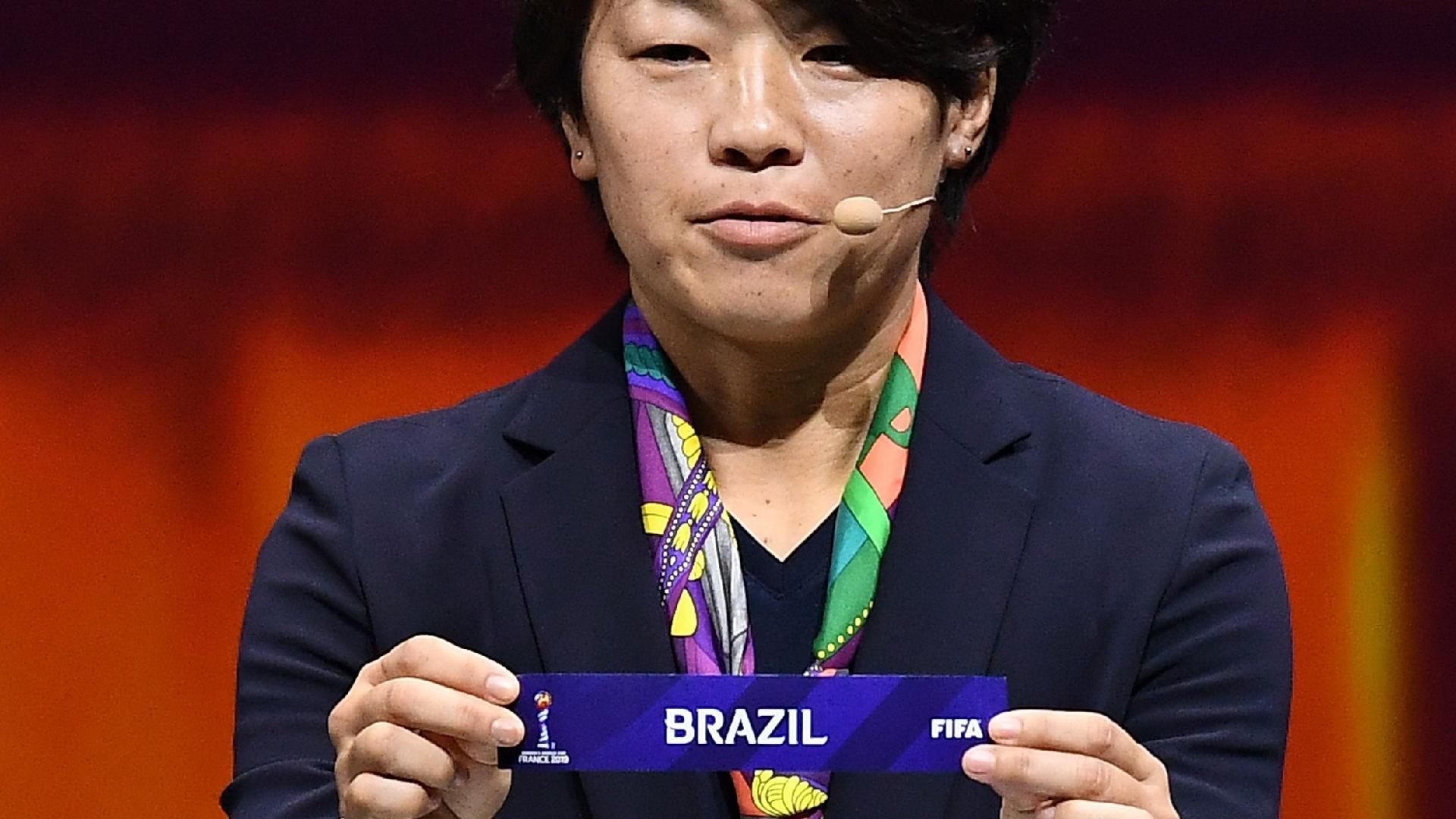 Brasil Copa do Mundo Feminina sorteio dos grupos