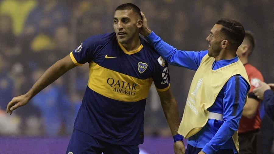 """Atacante do Boca Juniors citou o atacante como """"escuro"""" ao minimizar críticas por racismo - JUAN MABROMATA / AF"""