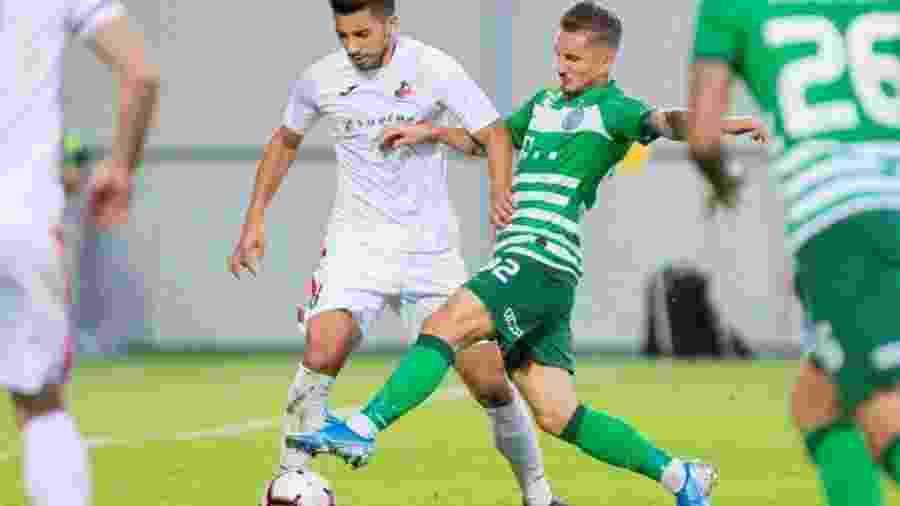 FK Suduva recebeu Ferencvaros e ficou no 0 a 0; confronto vale vaga na fase de grupos da Liga Europa - FK Suduva/Divulgação