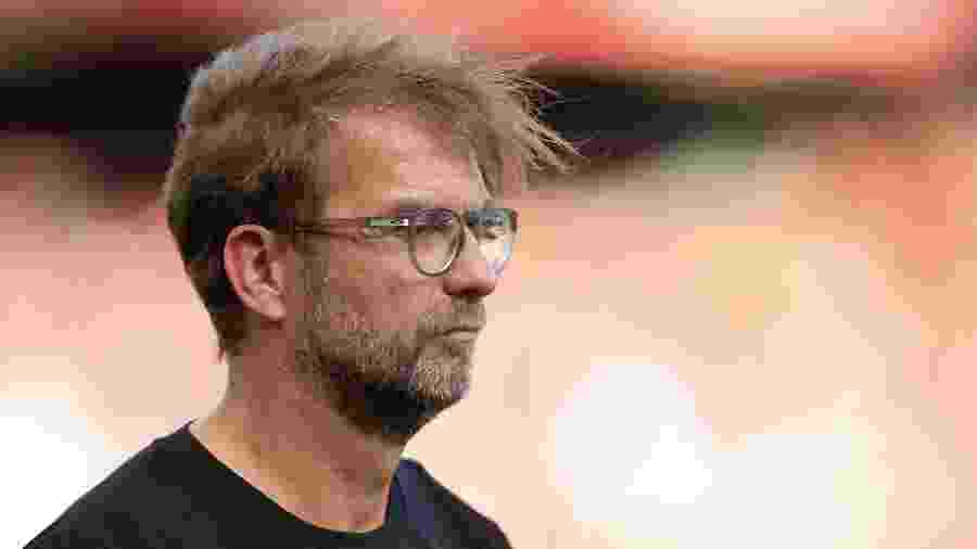 Jurgen Klopp, técnico do Liverpool - Simon Stacpoole/Offside/Offside via Getty Images