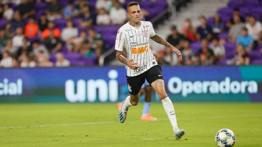 Luan em ação pelo Corinthians contra o New York City: dois gols em 45 minutos na vitória alvinegra nos Estados Unidos - Rafael Ribeiro/Florida Cup